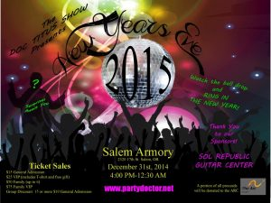 2014 New Year's Eve party