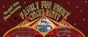Family Fun Night Circus Party